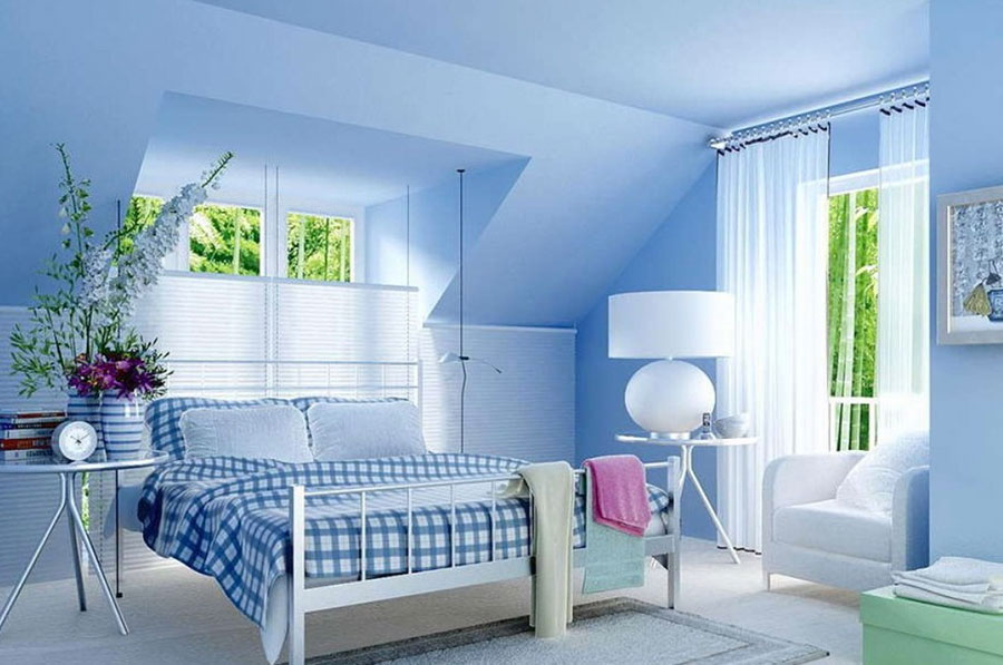 Bien connu 40 Idee per Colori di Pareti per la Camera da Letto | MondoDesign.it PU37