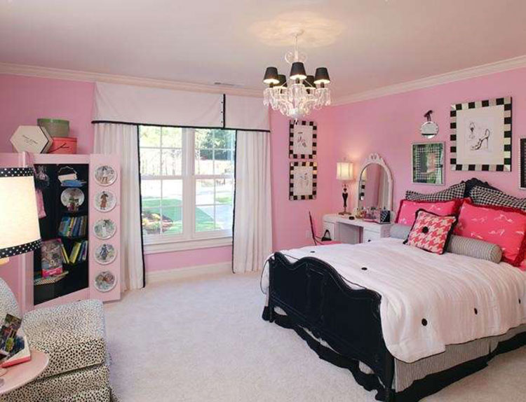 Camera Letto Rosa : Idee per colori di pareti per la camera da letto mondodesign