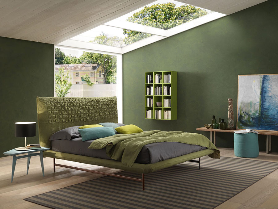 Stunning Colore Verde Per Camera Da Letto Gallery - House Interior ...