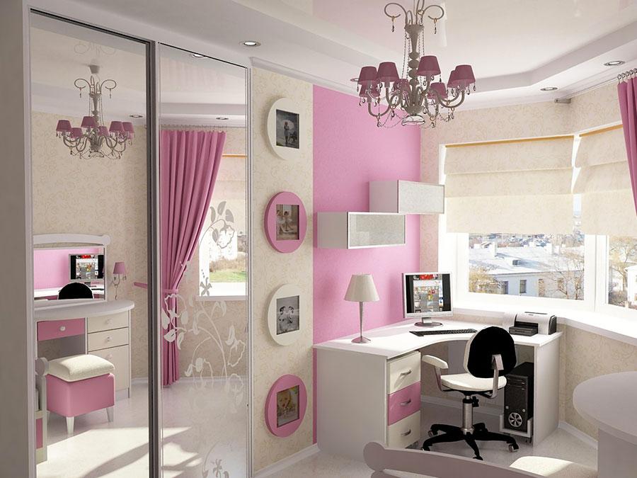 Camerette moderne per ragazze ecco 20 bellissimi modelli for Jugendzimmer selbst dekorieren