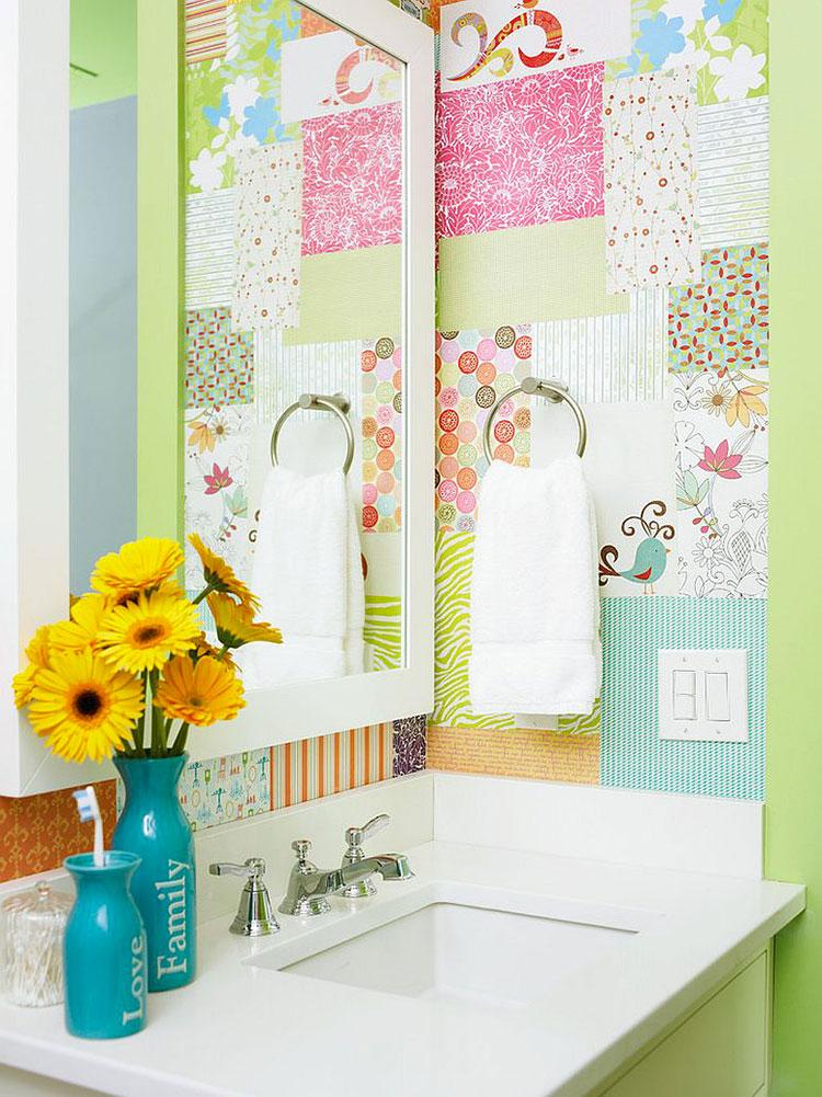 Idee per decorare pareti con tecnica decoupage