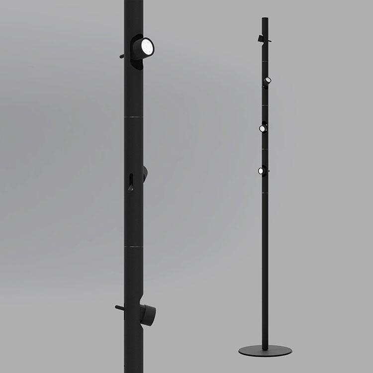 Lampada da terra dal design particolare n.02