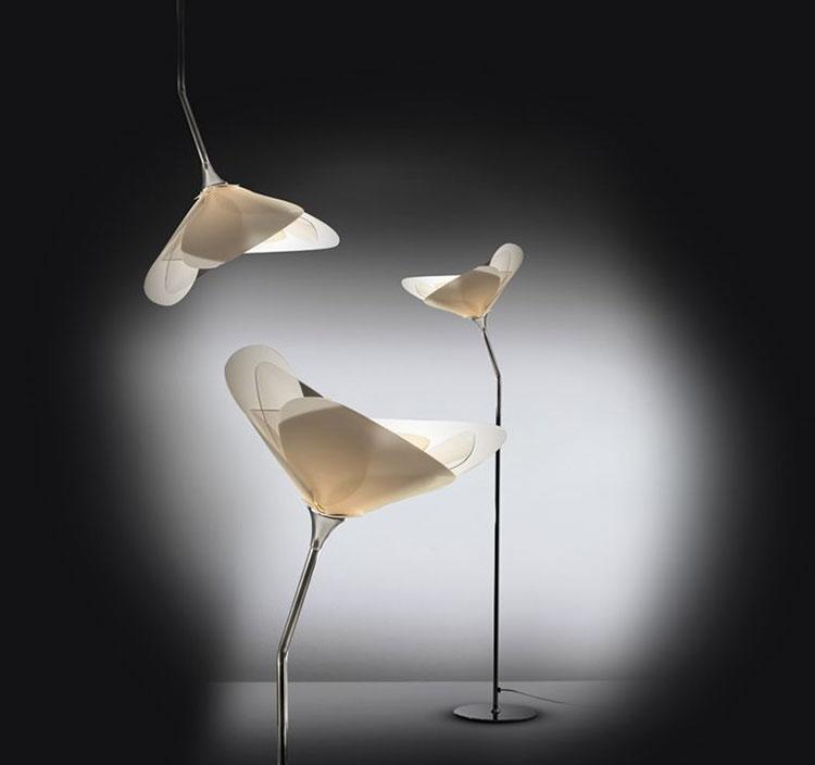 Lampada da terra dal design particolare n.09