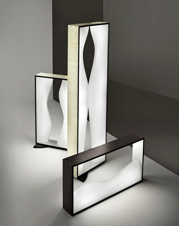 Lampada da terra dal design particolare n.10