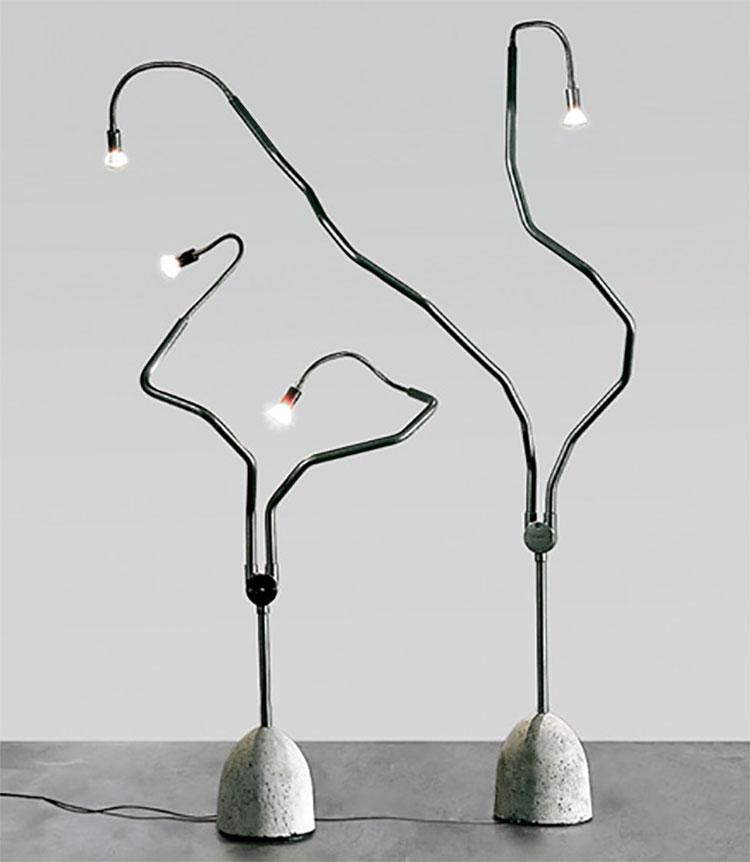 Lampada da terra dal design particolare n.14