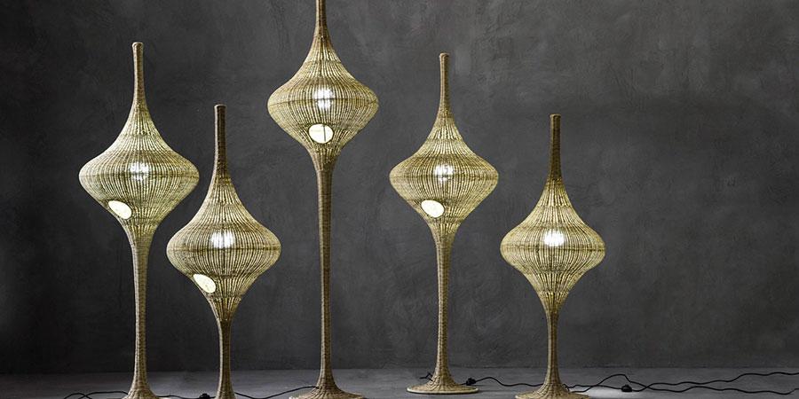 Modello di lampada da terra dal design particolare n.33