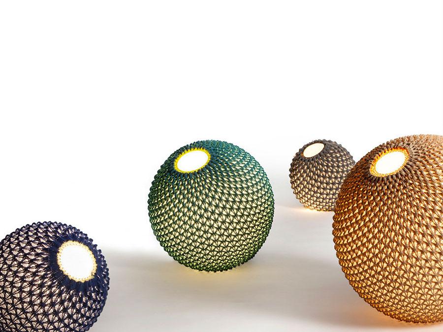 Modello di lampada da terra dal design particolare n.37