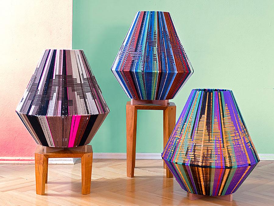 Modello di lampada da terra dal design particolare n.38