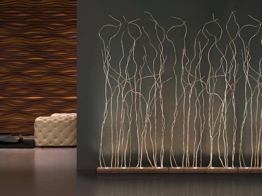 Modello di lampada da terra dal design particolare n.42