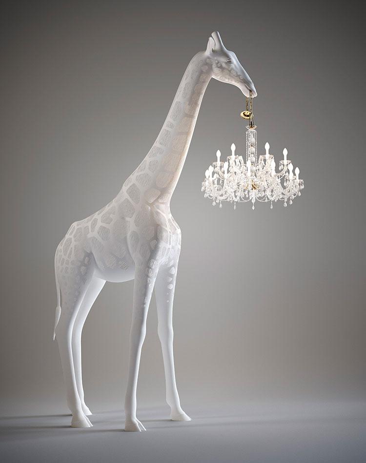 Modello di lampada da terra dal design particolare n.49