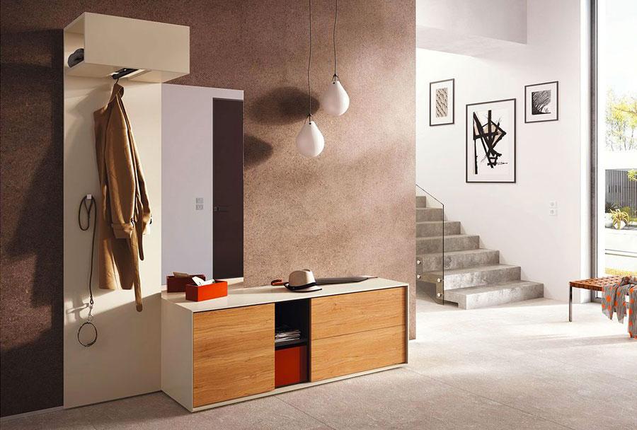 Mobili per ingresso moderni dal design particolare for Arredo entrata casa