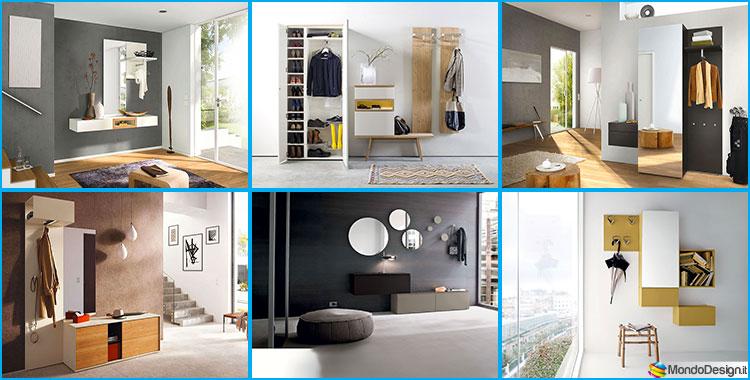 Mobili per ingresso moderni dal design particolare for Arredo ingresso design