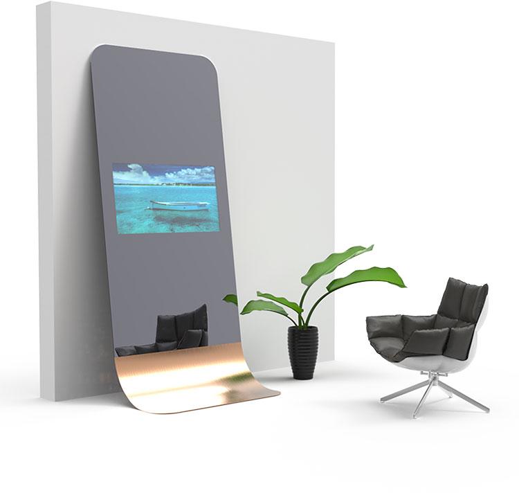 Modello di specchio da terra dal design moderno n.02