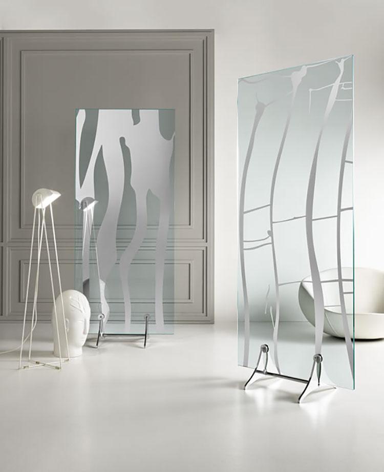Modello di specchio da terra dal design moderno n.04