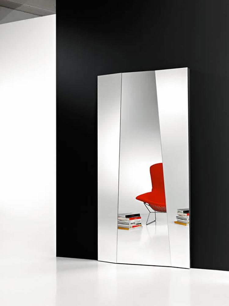 Modello di specchio da terra dal design moderno n.05