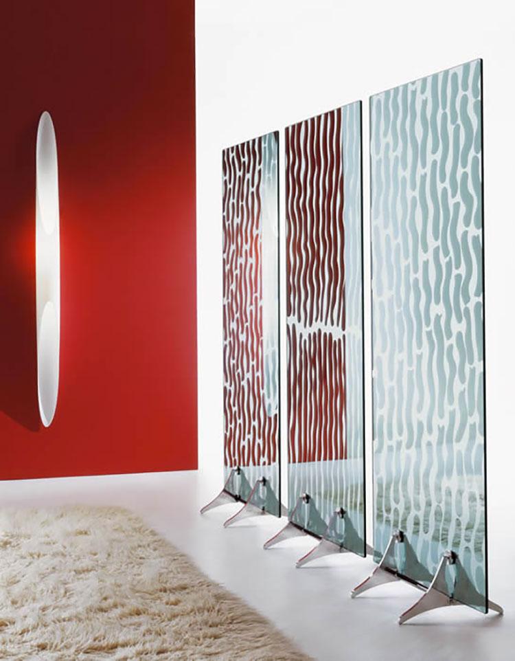 Modello di specchio da terra dal design moderno n.06