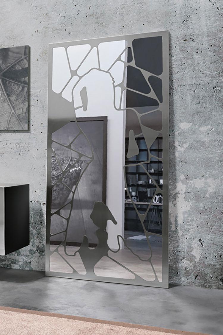 Modello di specchio da terra dal design moderno n.08