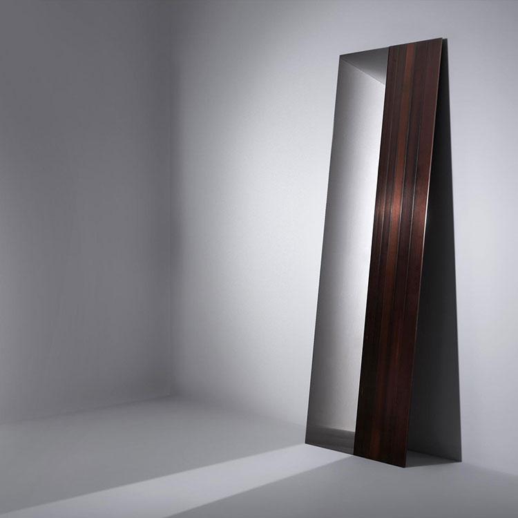 Modello di specchio da terra dal design moderno n.11