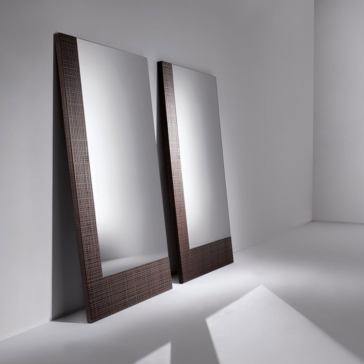 Modello di specchio da terra dal design moderno n.12