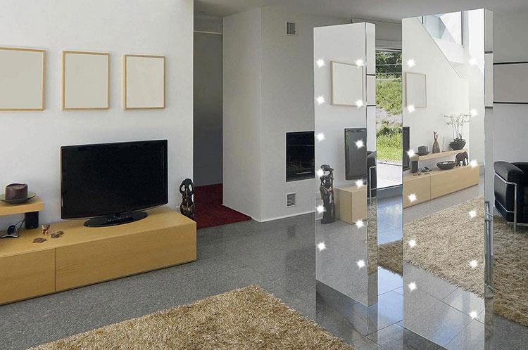 Modello di specchio da terra dal design moderno n.13