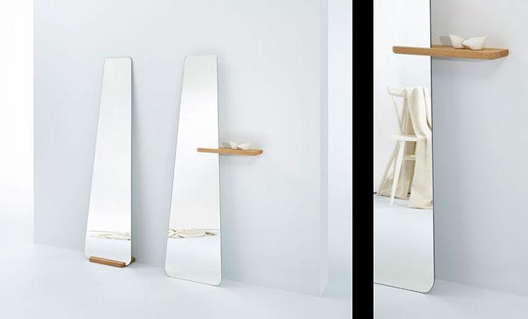 Modello di specchio da terra dal design moderno n.14
