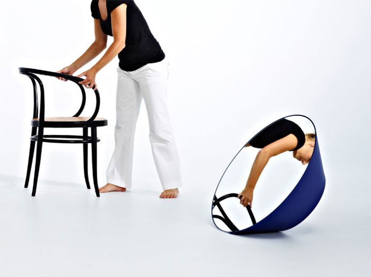 Modello di specchio da terra dal design moderno n.16