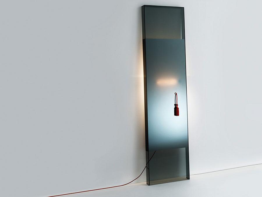 Modello di specchio da terra dal design moderno n.26
