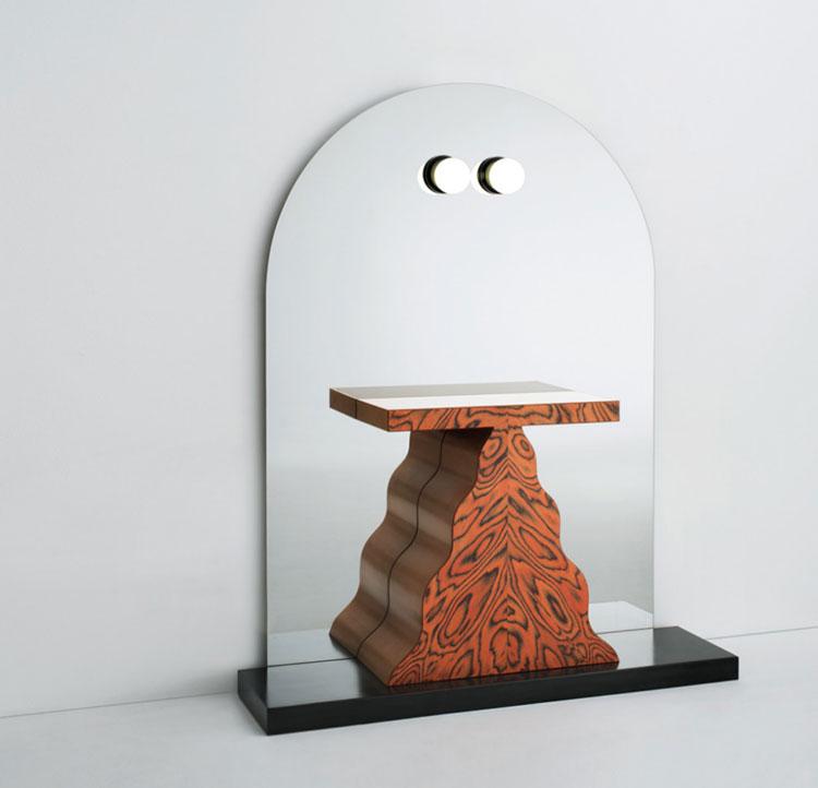 Modello di specchio da terra dal design moderno n.27
