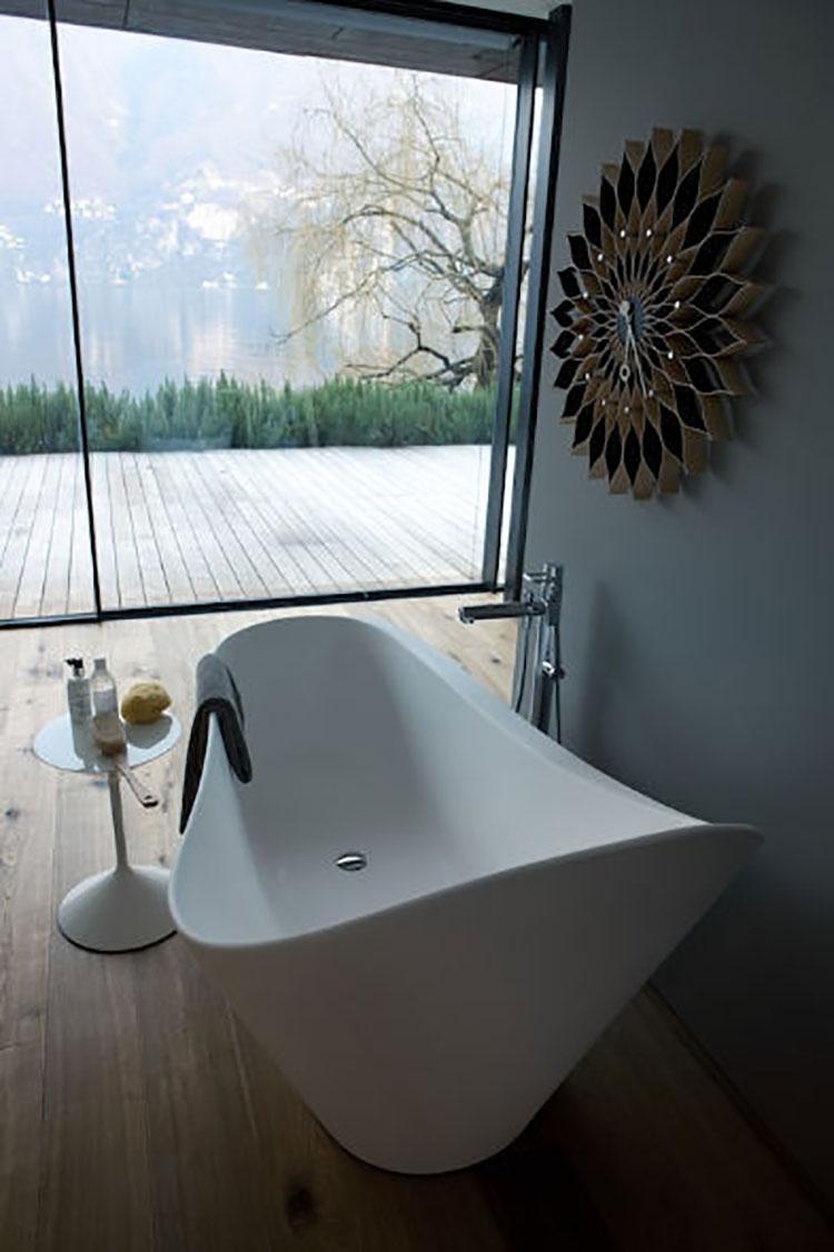 25 vasche da bagno dalla forma irregolare e particolare - Gambe vasca da bagno ...
