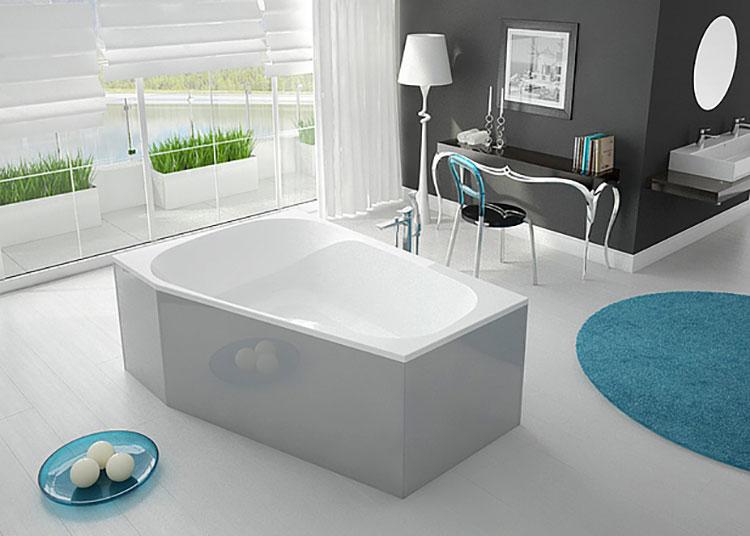 Vasca da bagno irregolare a libera installazione n.04