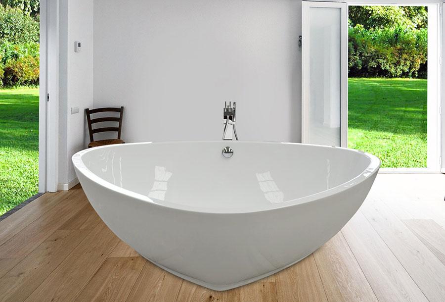 Vasca da bagno irregolare a libera installazione n.05