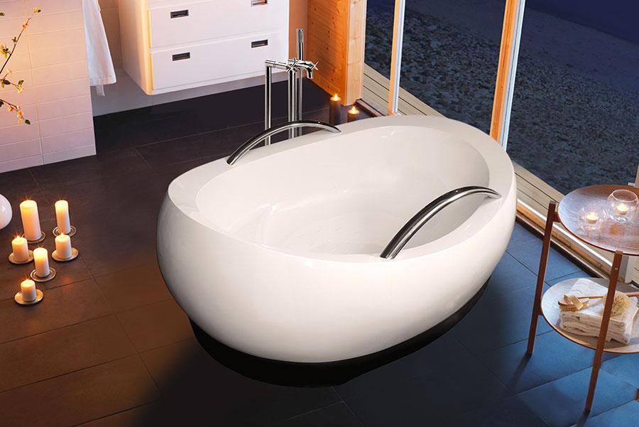 Vasca da bagno irregolare a libera installazione n.07