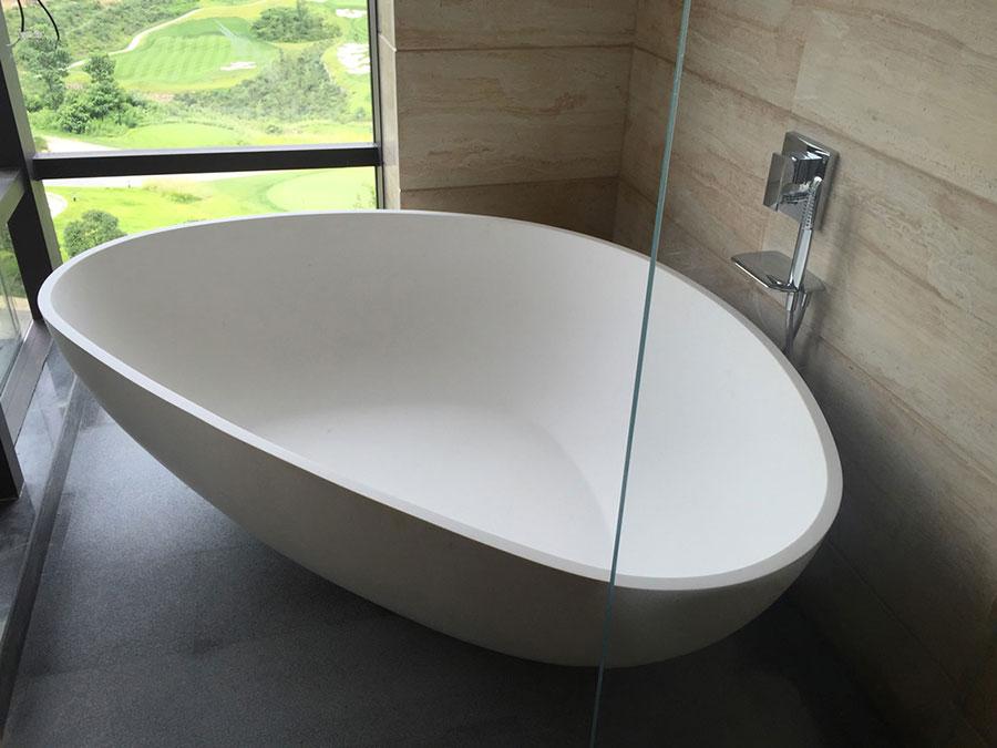 Vasca da bagno irregolare a libera installazione n.08