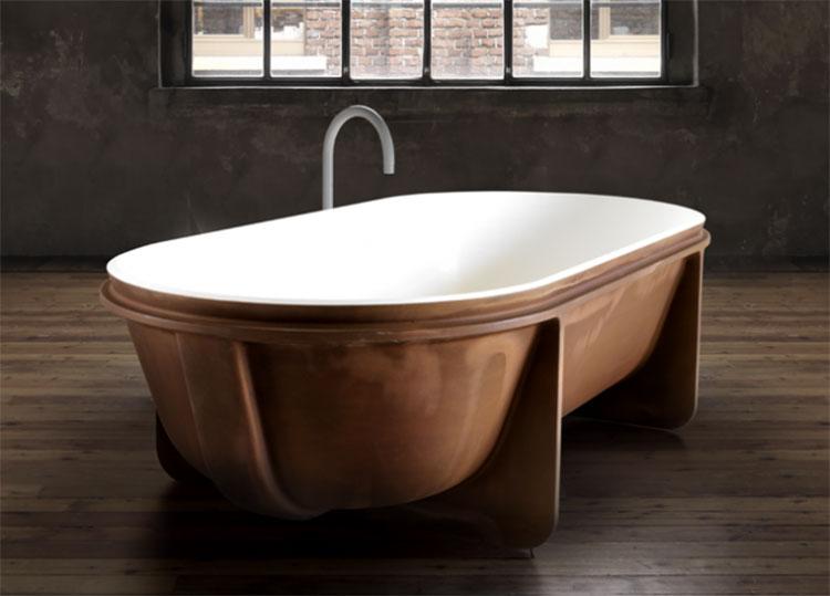 Vasca da bagno irregolare a libera installazione n.15
