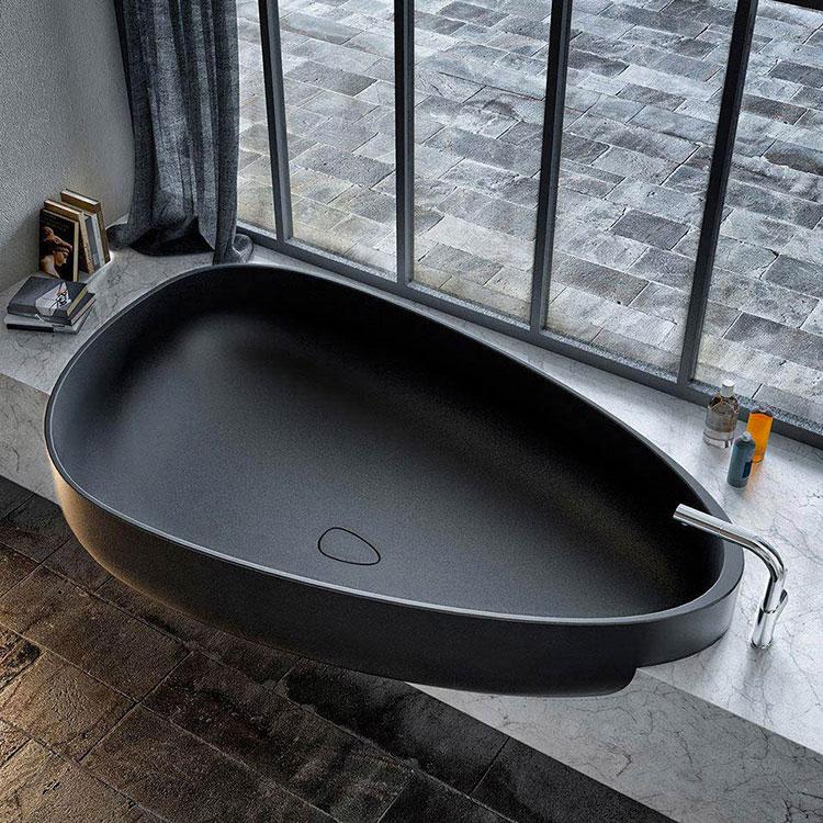 Vasca da bagno irregolare a incasso n.16