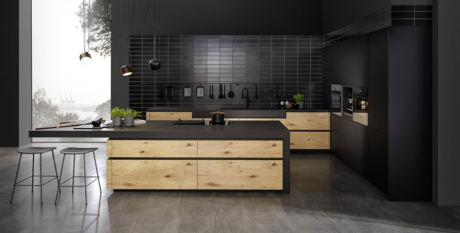 Cucine nere di design