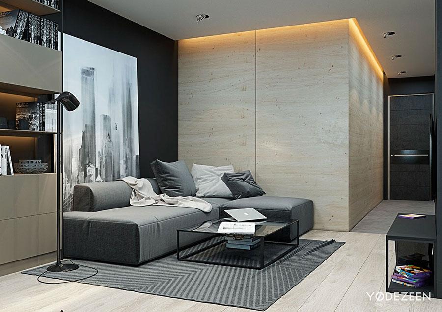 Idee di design per arredare un piccolo appartamento n.01
