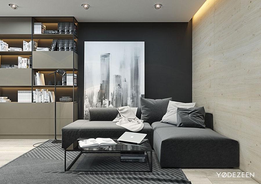 Idee di design per arredare un piccolo appartamento n.02