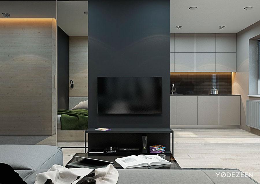 Idee di design per arredare un piccolo appartamento n.03