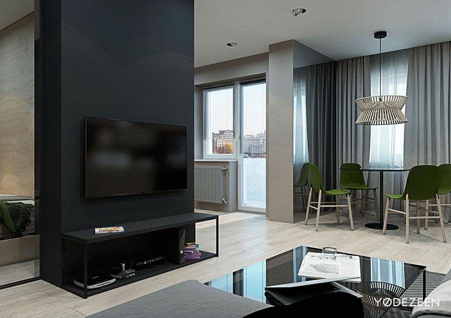 Idee di design per arredare un piccolo appartamento n.04