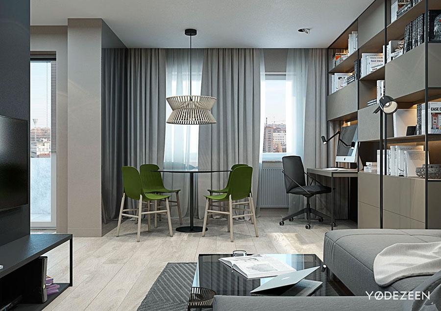 Idee di design per arredare un piccolo appartamento n.05