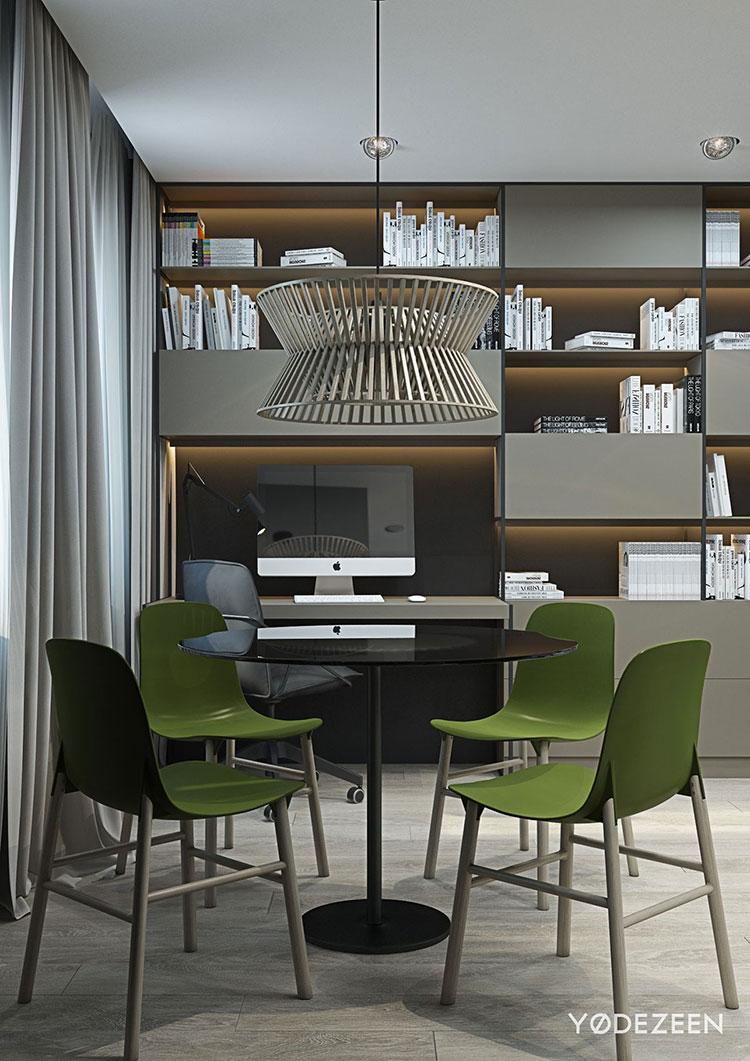 Idee di design per arredare un piccolo appartamento n.06