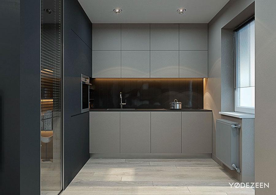 Idee di design per arredare un piccolo appartamento n.07