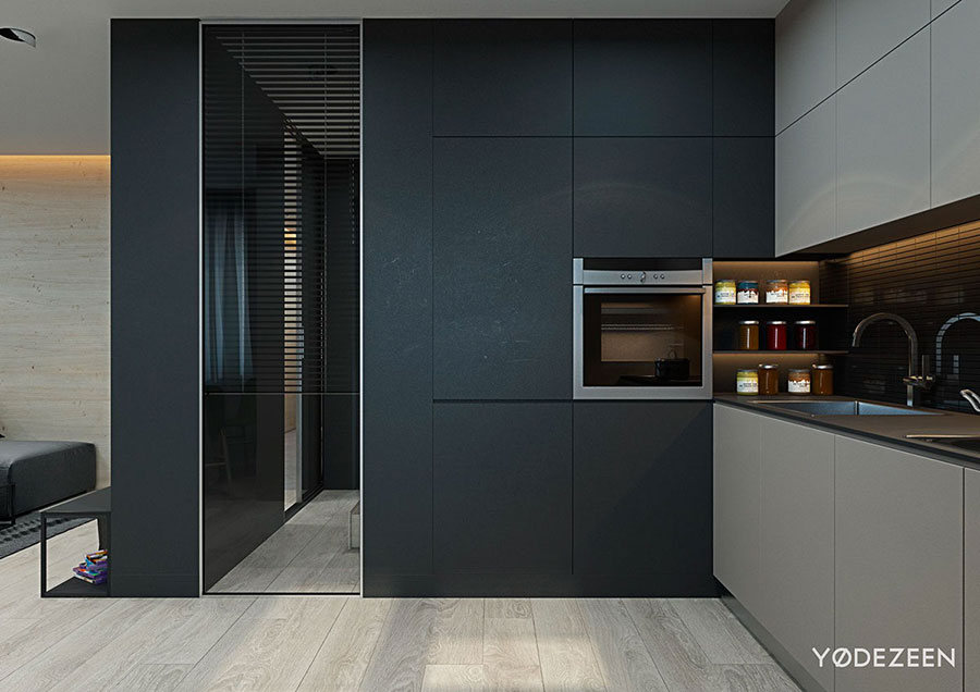 Idee di design per arredare un piccolo appartamento n.08