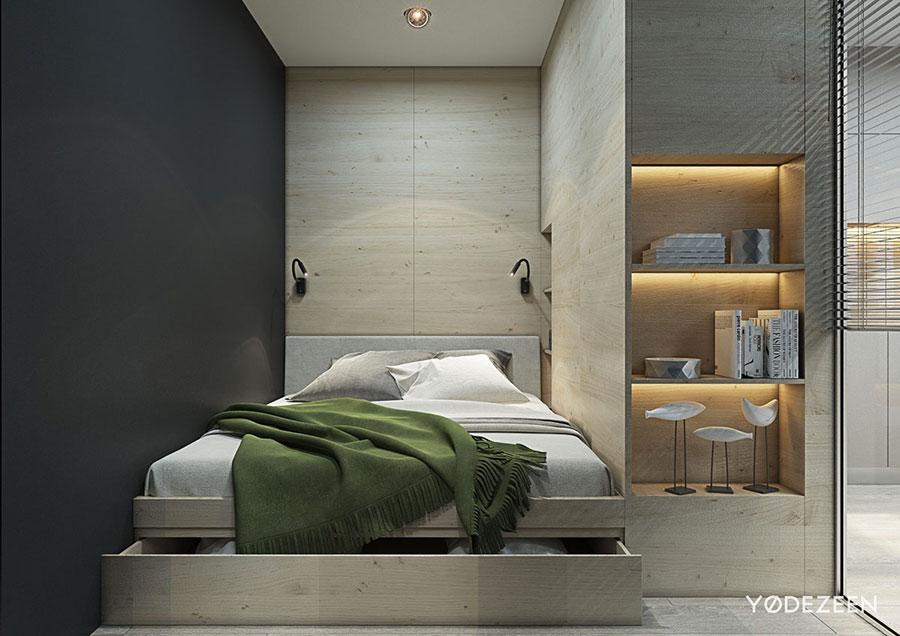 Idee di design per arredare un piccolo appartamento n.09