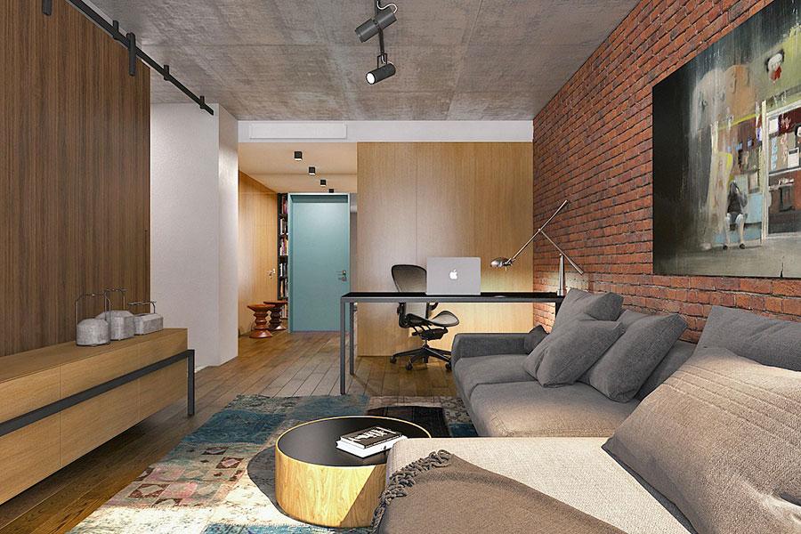 Idee di design per arredare un piccolo appartamento n.13