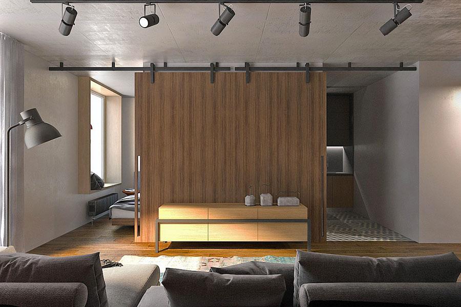 Idee di design per arredare un piccolo appartamento n.15