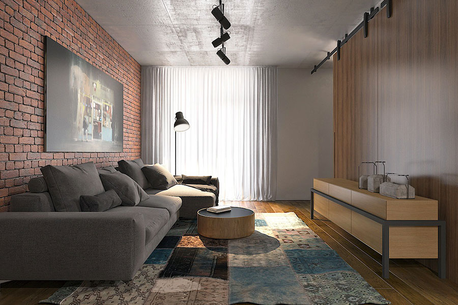 Idee di design per arredare un piccolo appartamento n.16