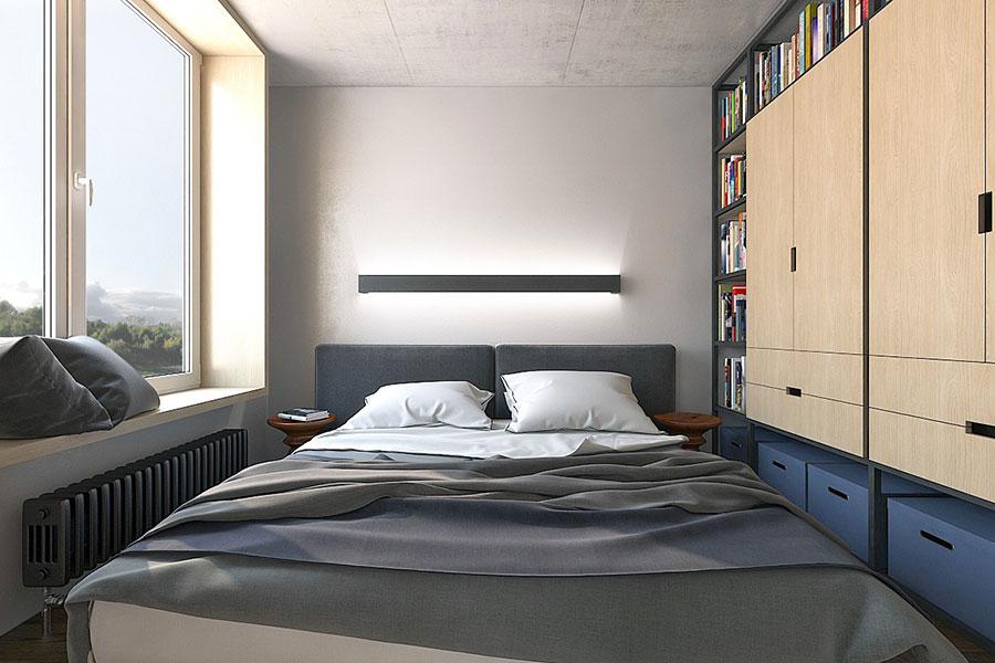 Idee di design per arredare un piccolo appartamento n.17