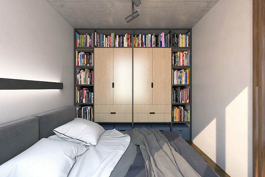 Idee di design per arredare un piccolo appartamento n.18